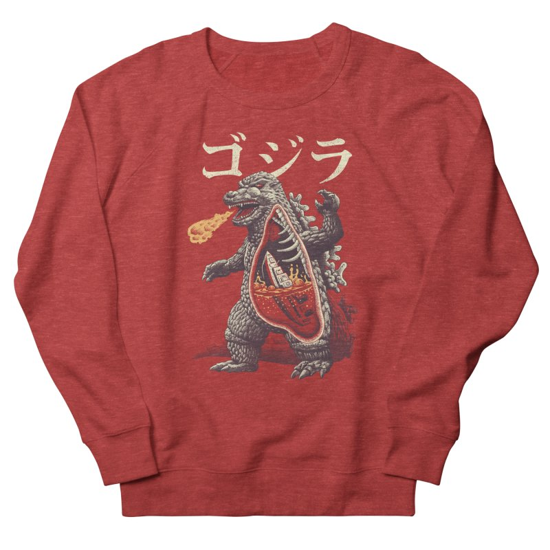 A Kaiju's Anatomy Women's French Terry Sweatshirt by Vincent Trinidad Art