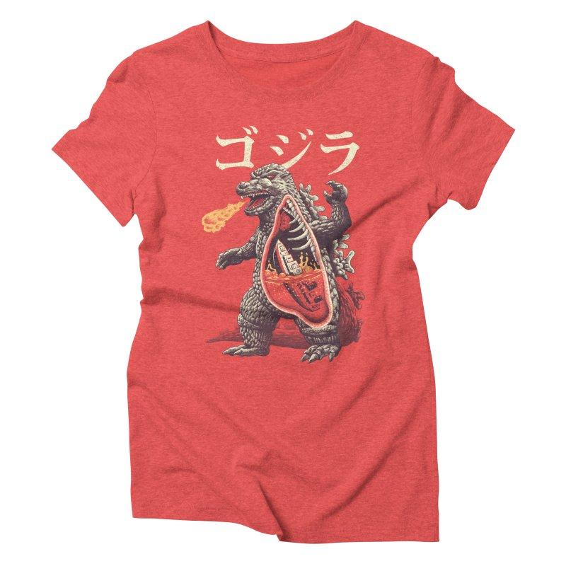 A Kaiju's Anatomy Women's Triblend T-Shirt by Vincent Trinidad Art