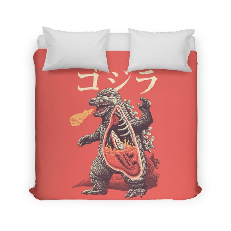 A Kaiju's Anatomy Home Duvet by Vincent Trinidad Art