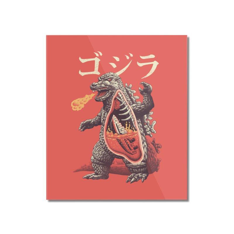 A Kaiju's Anatomy Home Mounted Acrylic Print by Vincent Trinidad Art