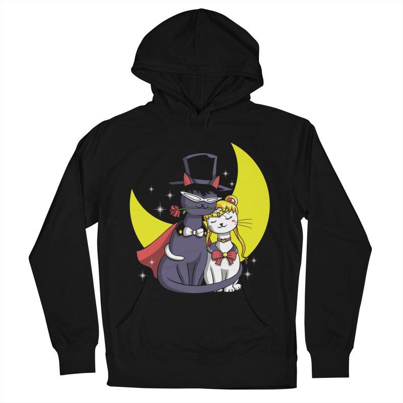 Moonlight Cats Men's Pullover Hoody by vincenttrinidad's Artist Shop