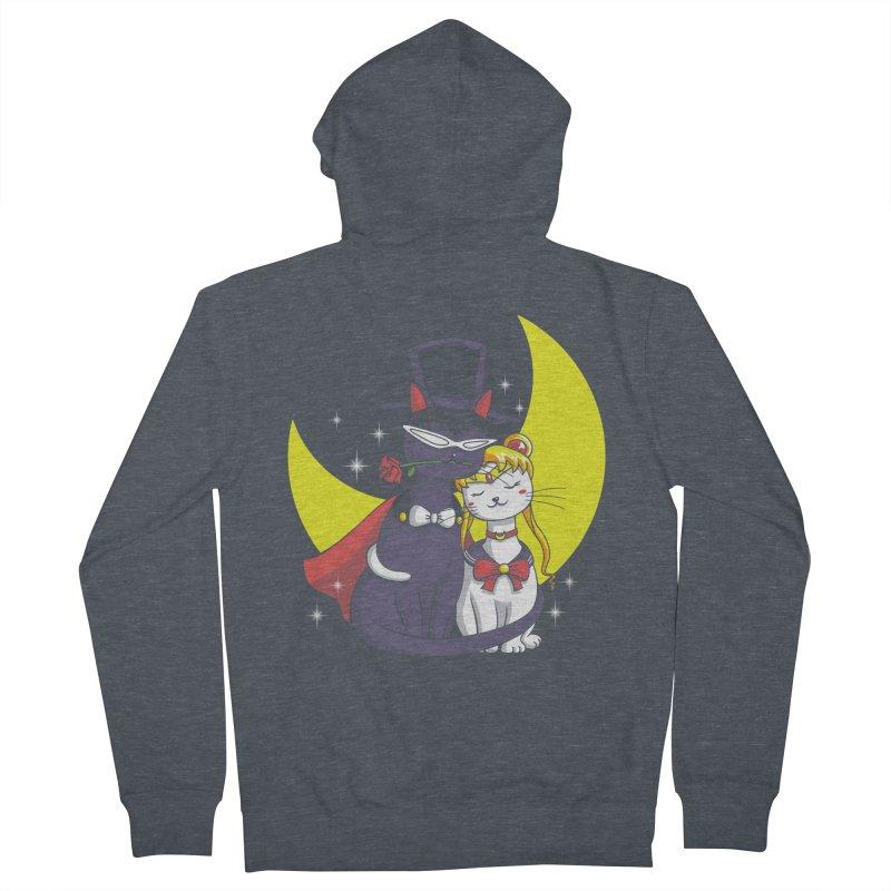 Moonlight Cats Women's Zip-Up Hoody by vincenttrinidad's Artist Shop