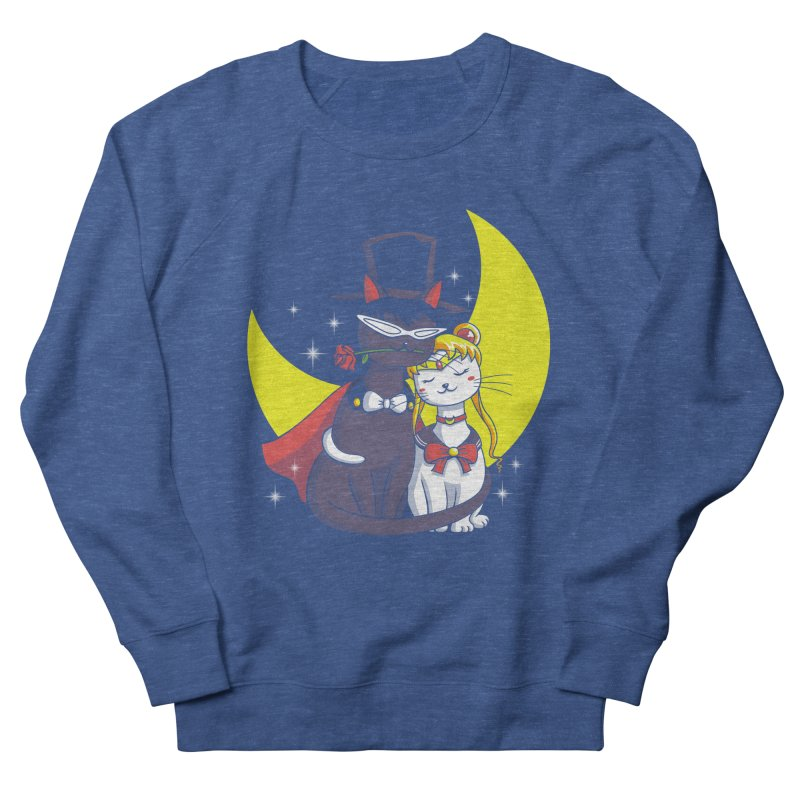 Moonlight Cats Women's Sweatshirt by vincenttrinidad's Artist Shop