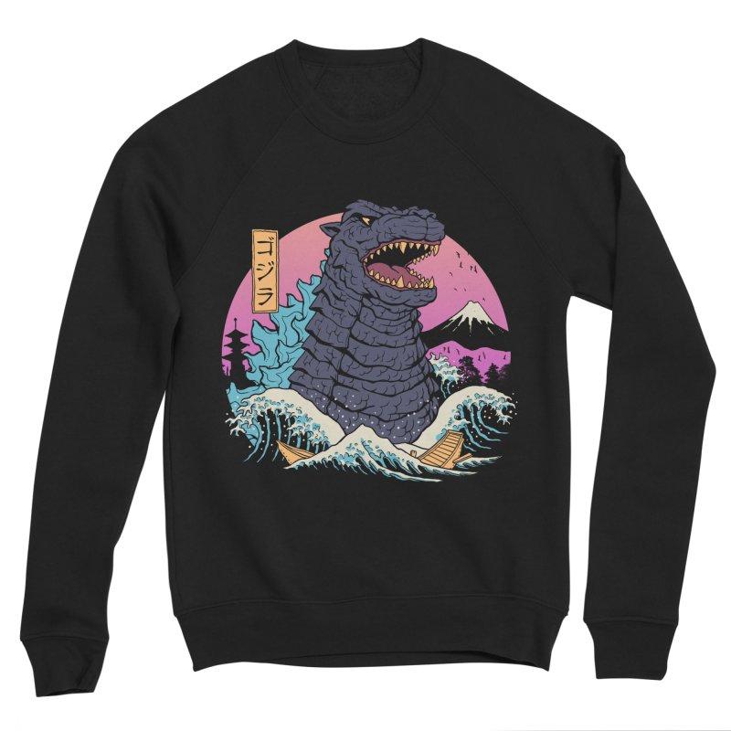 Rad Zilla Wave Women's Sweatshirt by Vincent Trinidad Art