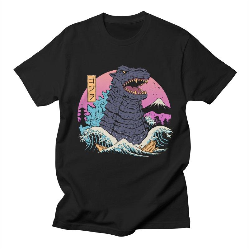Rad Zilla Wave Women's Regular Unisex T-Shirt by Vincent Trinidad Art