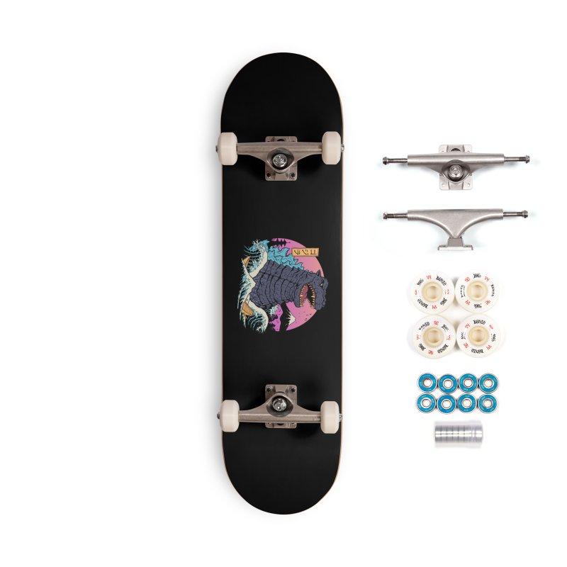 Rad Zilla Wave Accessories Complete - Premium Skateboard by Vincent Trinidad Art