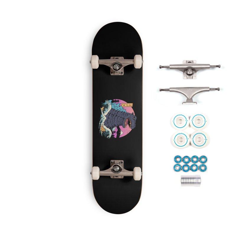 Rad Zilla Wave Accessories Complete - Basic Skateboard by Vincent Trinidad Art