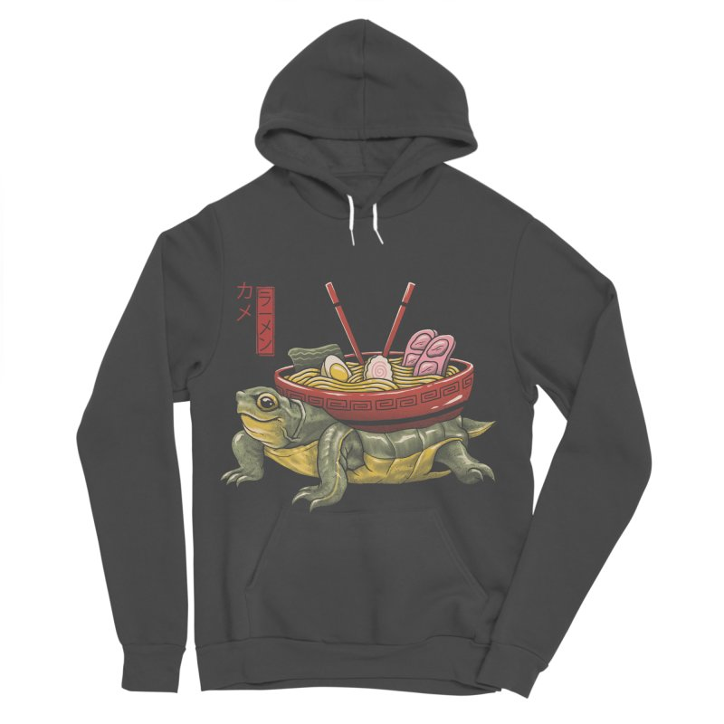 Kame Ramen Women's Sponge Fleece Pullover Hoody by Vincent Trinidad Art