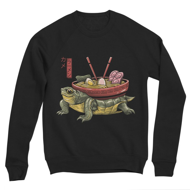 Kame Ramen Women's Sponge Fleece Sweatshirt by Vincent Trinidad Art