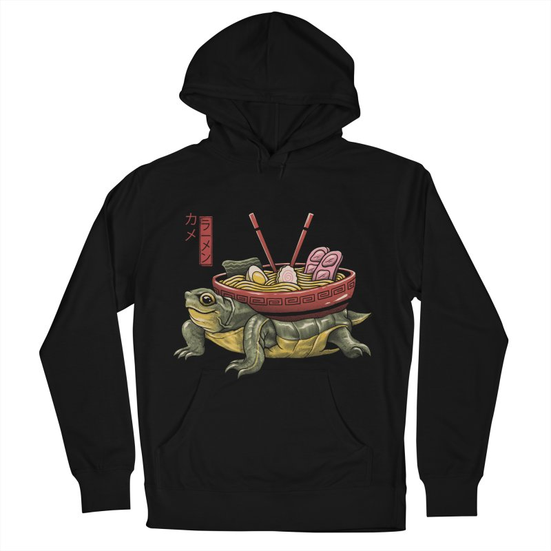 Kame Ramen Men's French Terry Pullover Hoody by Vincent Trinidad Art