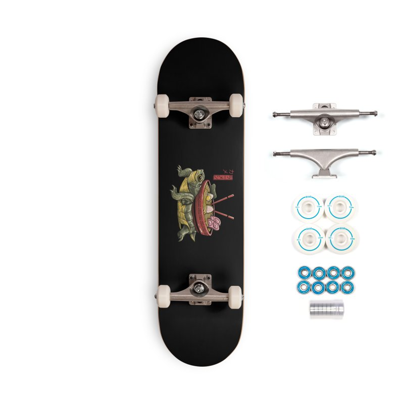 Kame Ramen Accessories Complete - Basic Skateboard by Vincent Trinidad Art