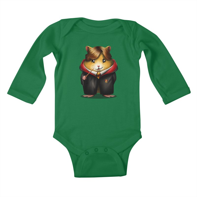 Rondent Weasley Kids Baby Longsleeve Bodysuit by vincenttrinidad's Artist Shop