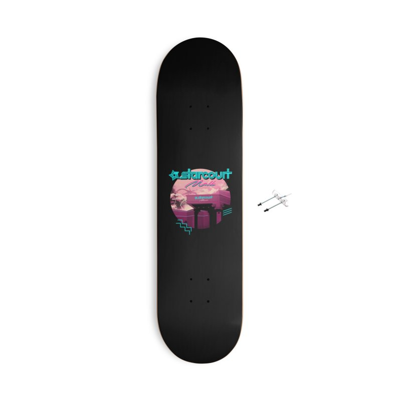 Strange Mall Accessories With Hanging Hardware Skateboard by Vincent Trinidad Art