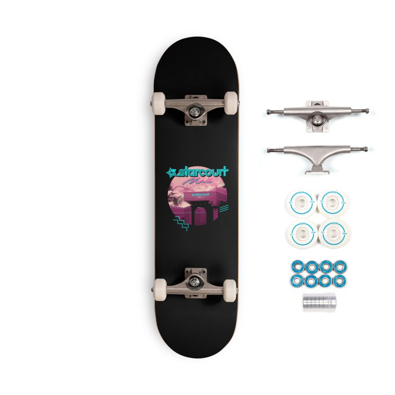 Strange Mall Accessories Complete - Basic Skateboard by Vincent Trinidad Art