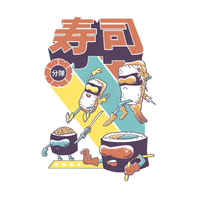 Sushi Sentai by Vincent Trinidad Art