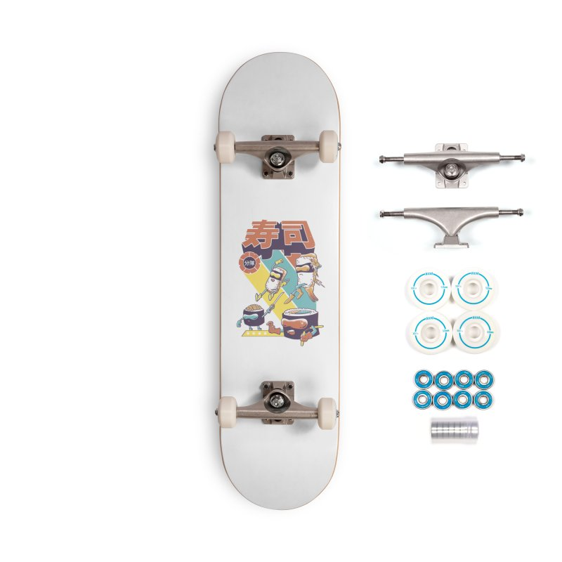 Sushi Sentai Accessories Complete - Basic Skateboard by Vincent Trinidad Art