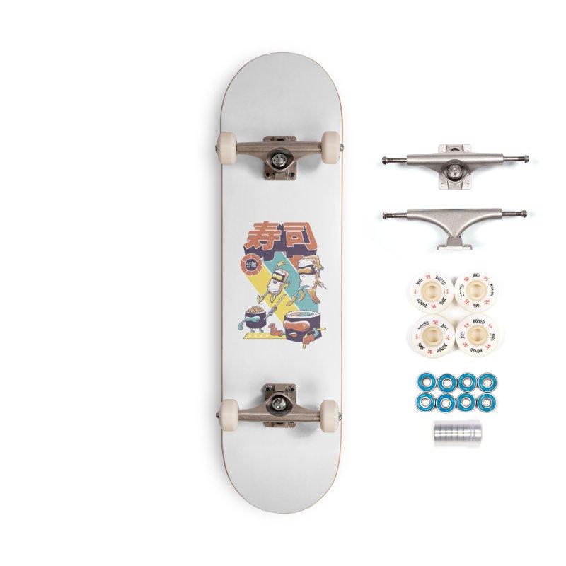 Sushi Sentai Accessories Complete - Premium Skateboard by Vincent Trinidad Art