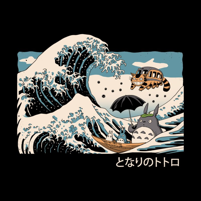 The Great Wave of Spirits by Vincent Trinidad Art