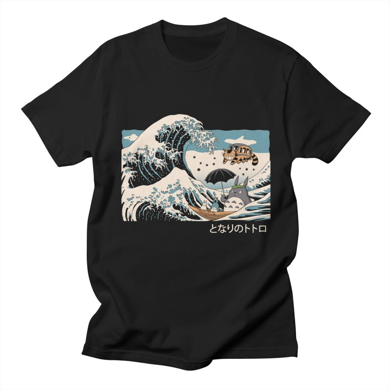 The Great Wave of Spirits Women's Regular Unisex T-Shirt by Vincent Trinidad Art