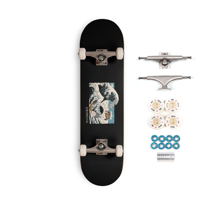The Great Wave of Spirits Accessories Complete - Premium Skateboard by Vincent Trinidad Art
