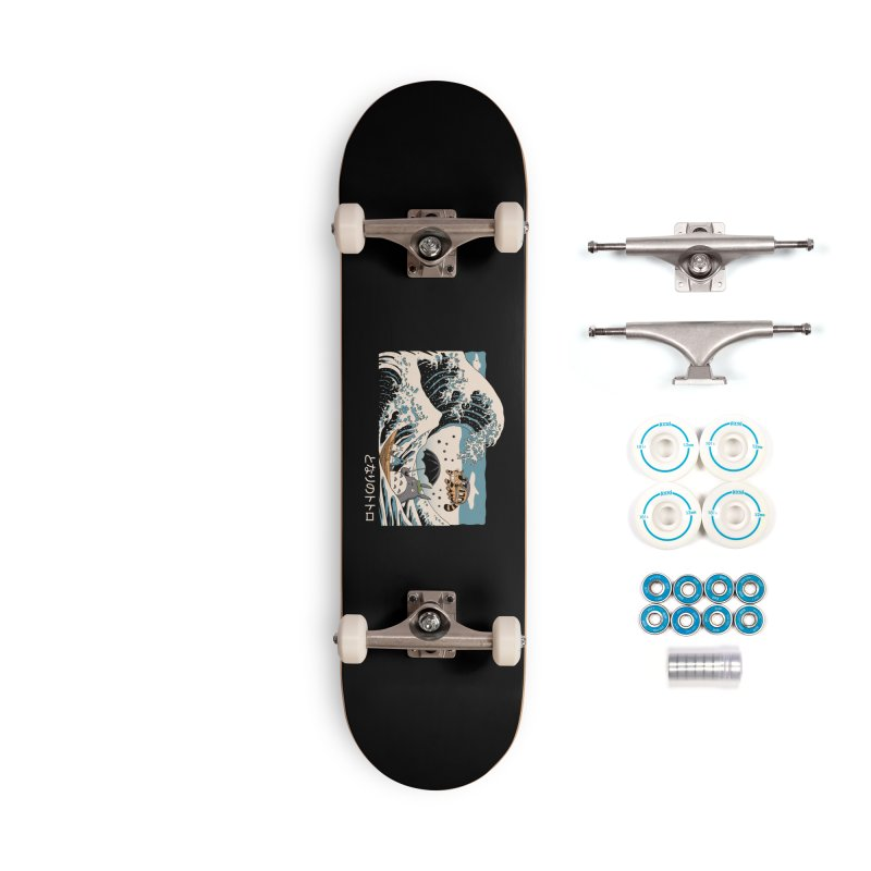 The Great Wave of Spirits Accessories Complete - Basic Skateboard by Vincent Trinidad Art