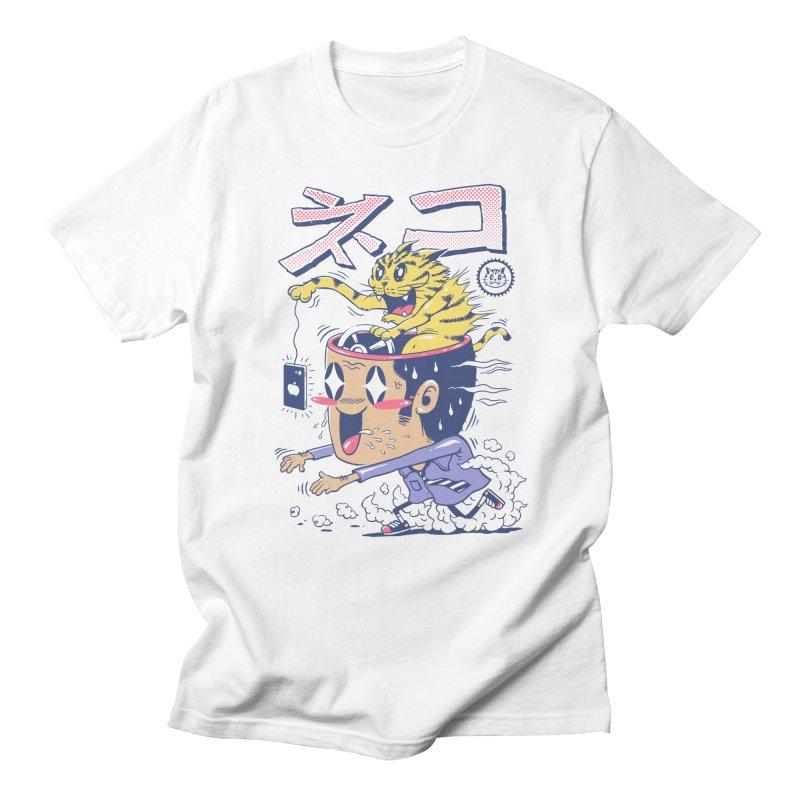Cat Rod Men's Regular T-Shirt by Vincent Trinidad Art