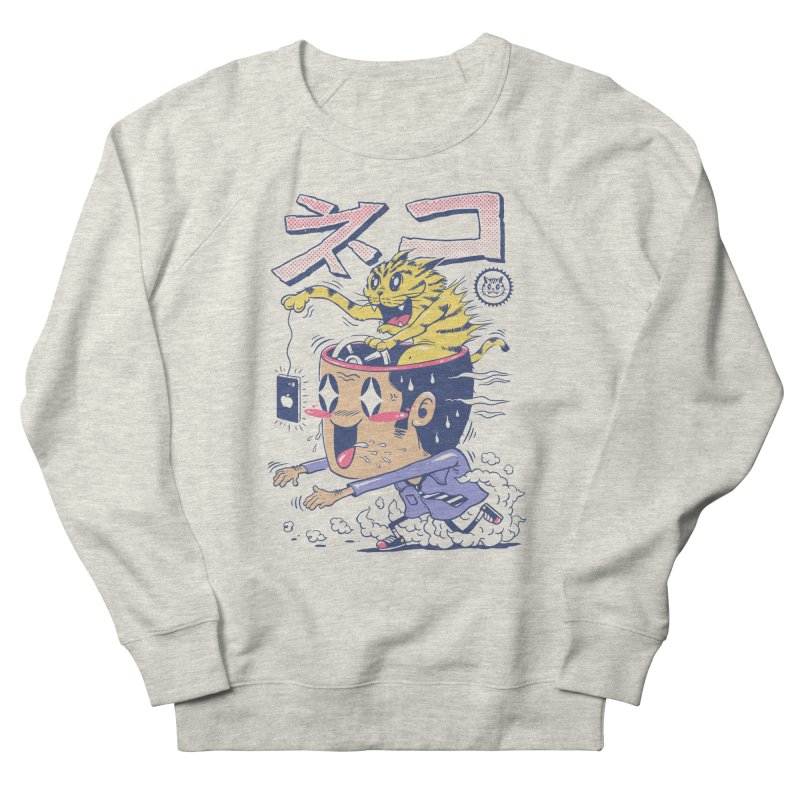 Cat Rod Men's French Terry Sweatshirt by Vincent Trinidad Art