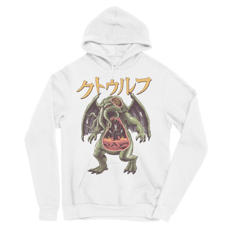 Kaiju Cthulhu Women's Sponge Fleece Pullover Hoody by Vincent Trinidad Art