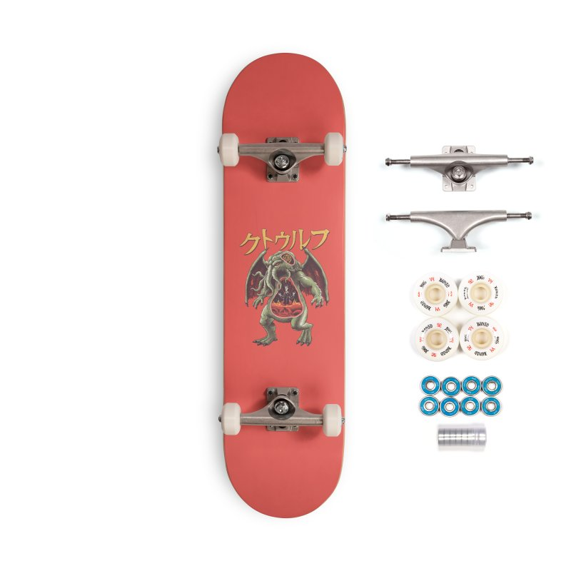 Kaiju Cthulhu Accessories Complete - Premium Skateboard by Vincent Trinidad Art