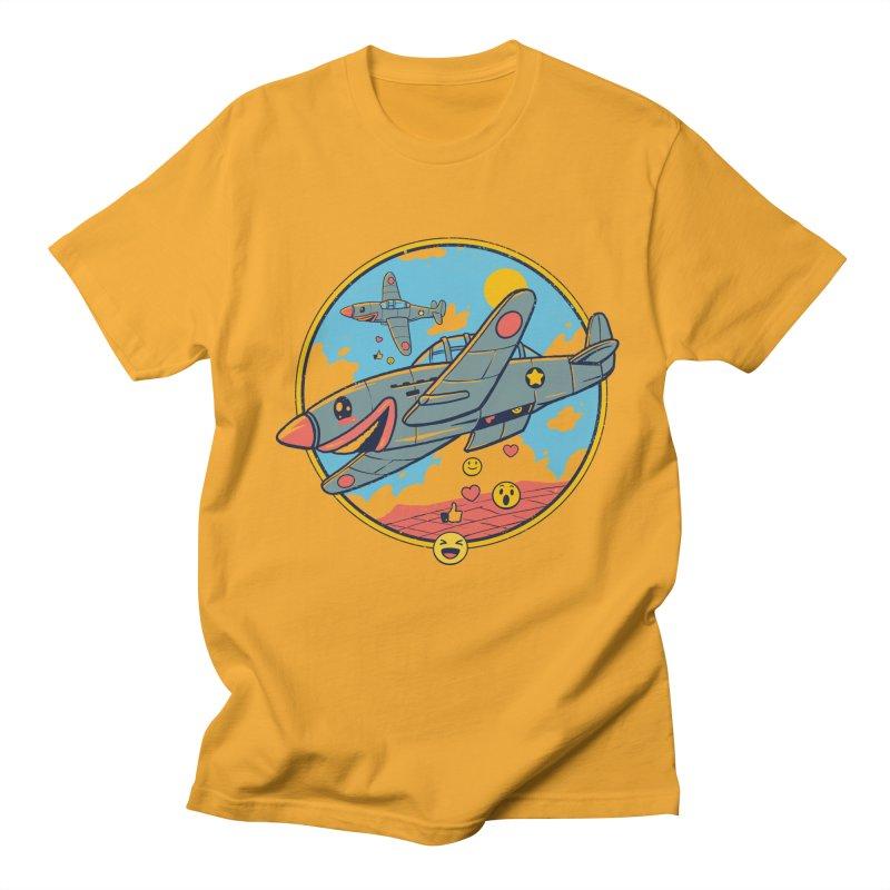 Kamikaze Likes and Smiles Men's Regular T-Shirt by Vincent Trinidad Art