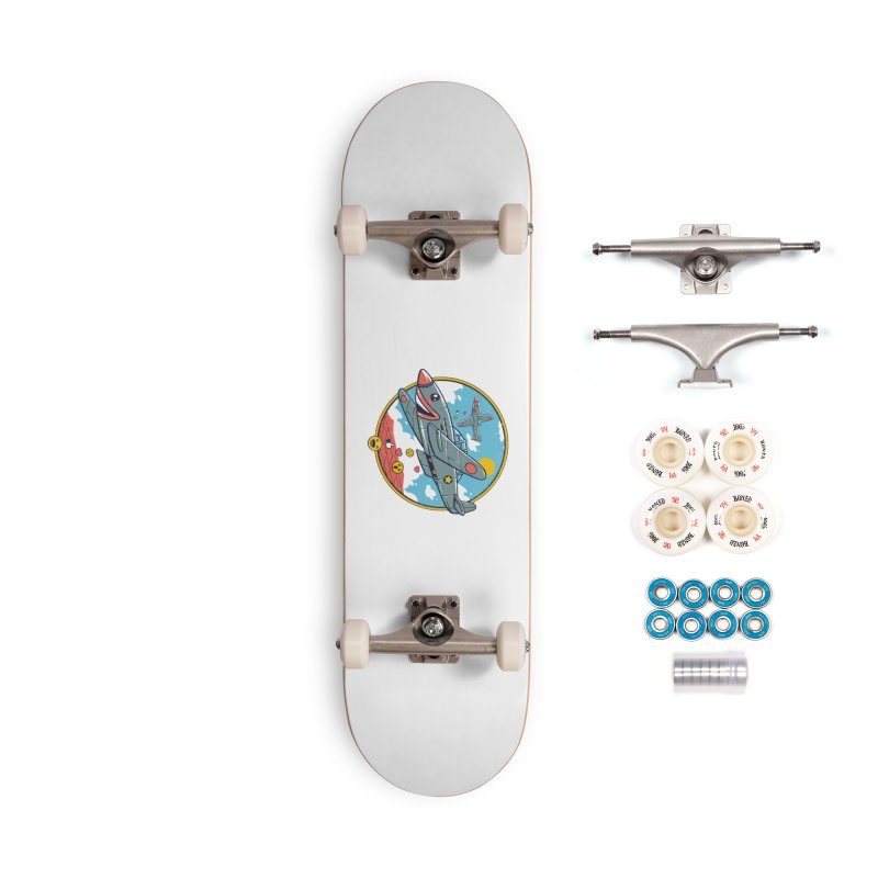 Kamikaze Likes and Smiles Accessories Complete - Premium Skateboard by Vincent Trinidad Art