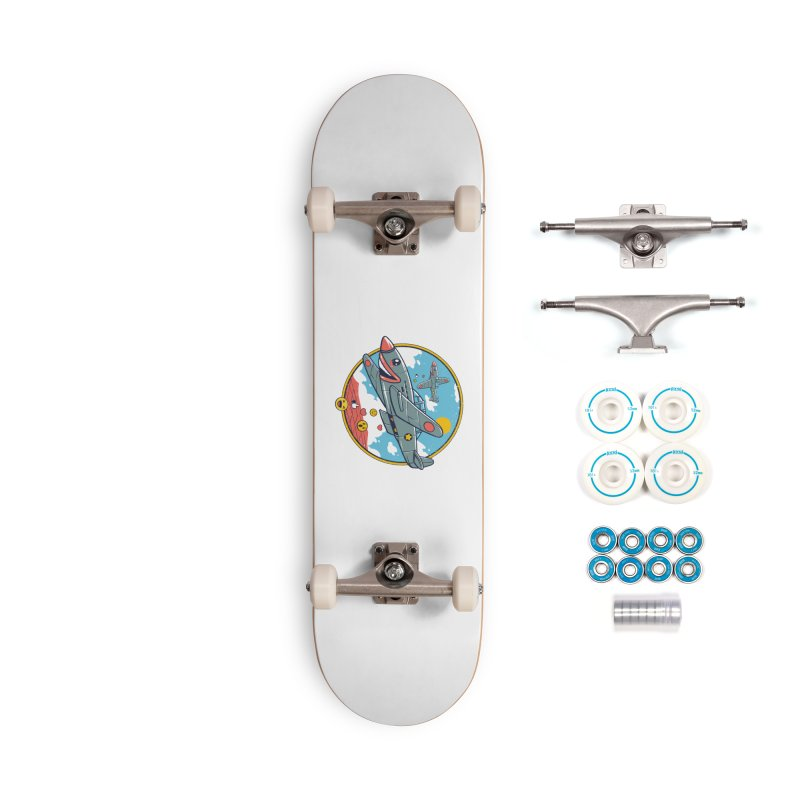 Kamikaze Likes and Smiles Accessories Complete - Basic Skateboard by Vincent Trinidad Art