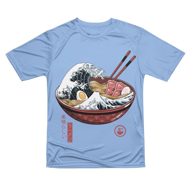 Great Ramen Wave White Men's T-Shirt by Vincent Trinidad Art
