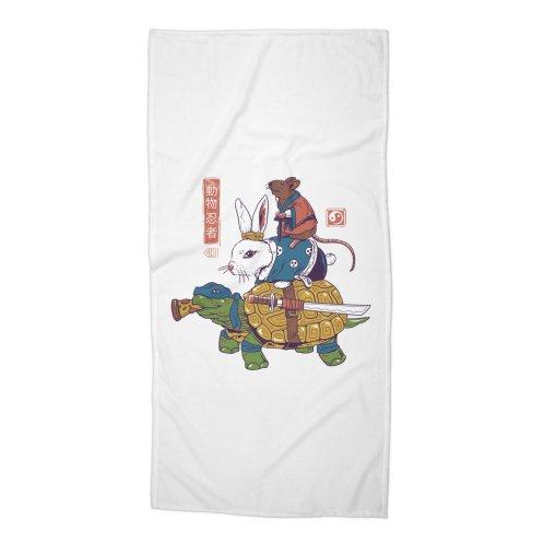 image for Kame, Usagi, and Ratto Ninjas White