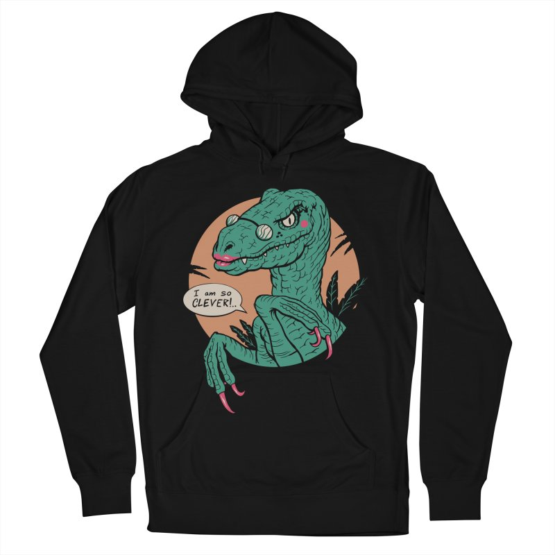 Clever Girl Women's French Terry Pullover Hoody by Vincent Trinidad Art