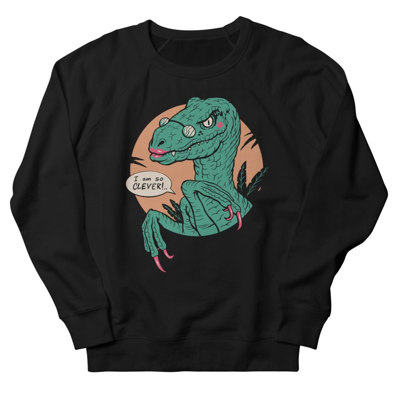 Clever Girl Women's French Terry Sweatshirt by Vincent Trinidad Art