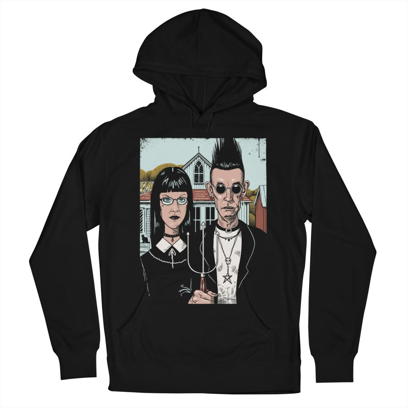 American Goth Women's French Terry Pullover Hoody by Vincent Trinidad Art