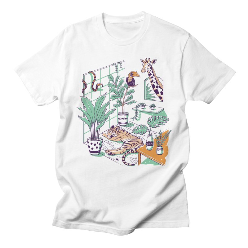 Urban Jungle Women's Regular Unisex T-Shirt by Vincent Trinidad Art