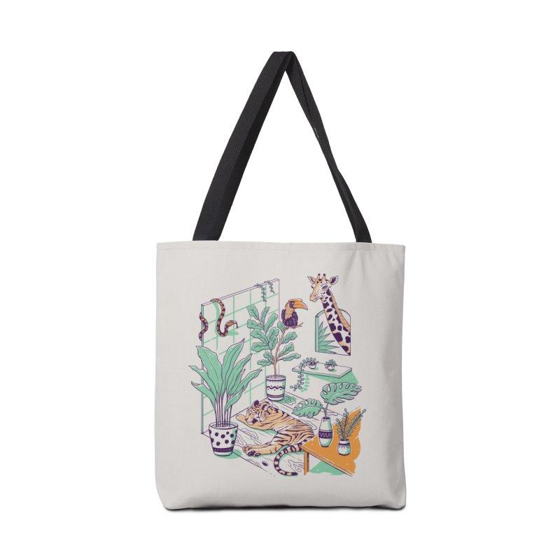 Urban Jungle Accessories Tote Bag Bag by Vincent Trinidad Art