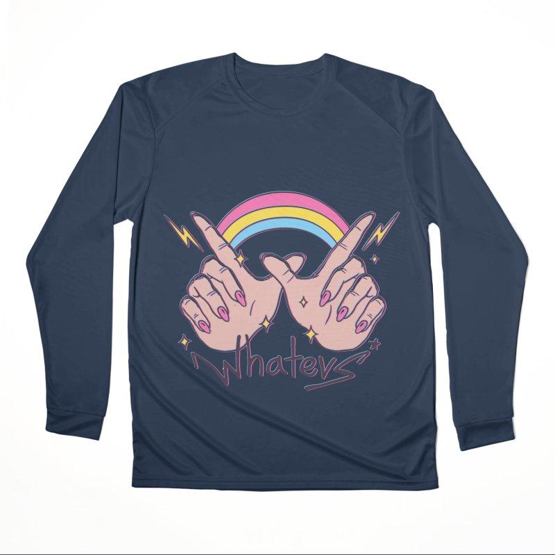 Whatevs! Men's Performance Longsleeve T-Shirt by Vincent Trinidad Art
