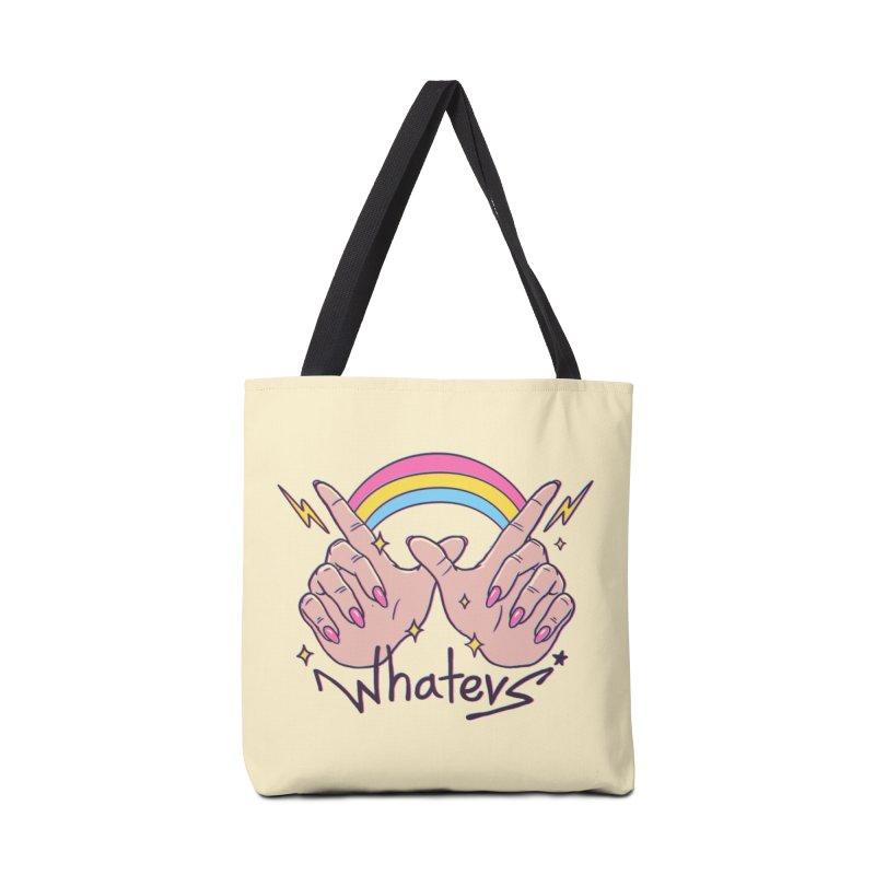 Whatevs! Accessories Tote Bag Bag by Vincent Trinidad Art