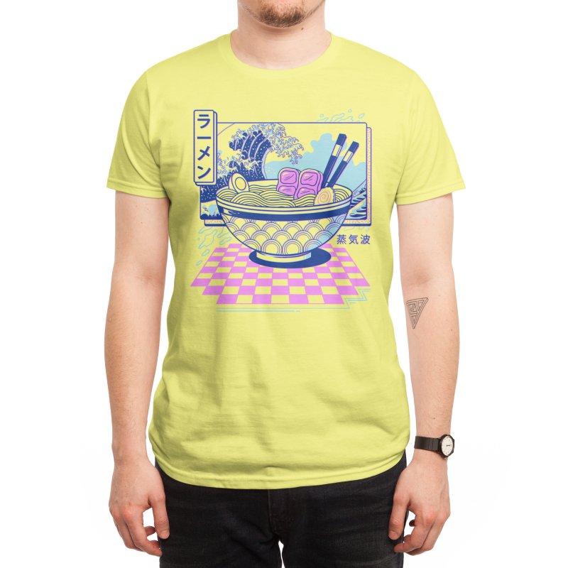 Vaporwave Ramen Men's T-Shirt by Vincent Trinidad Art