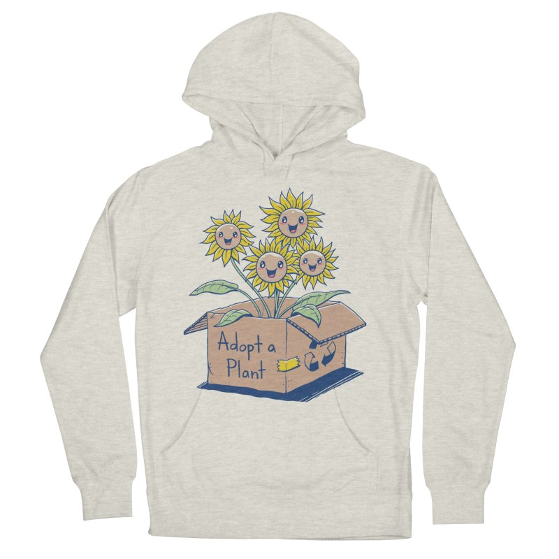 Adopt a Plant Men's Pullover Hoody by Vincent Trinidad Art
