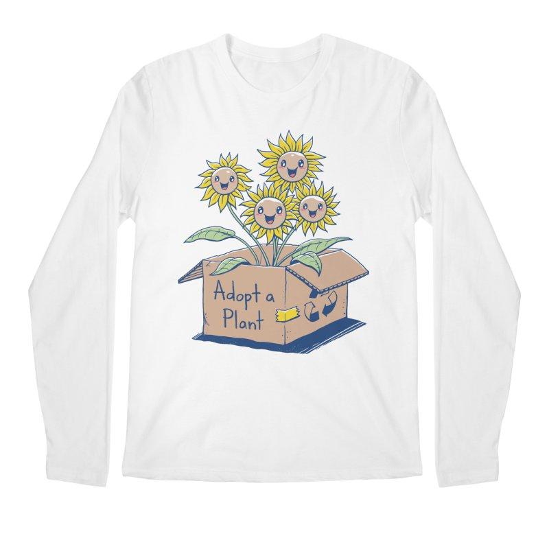 Adopt a Plant Men's Longsleeve T-Shirt by Vincent Trinidad Art