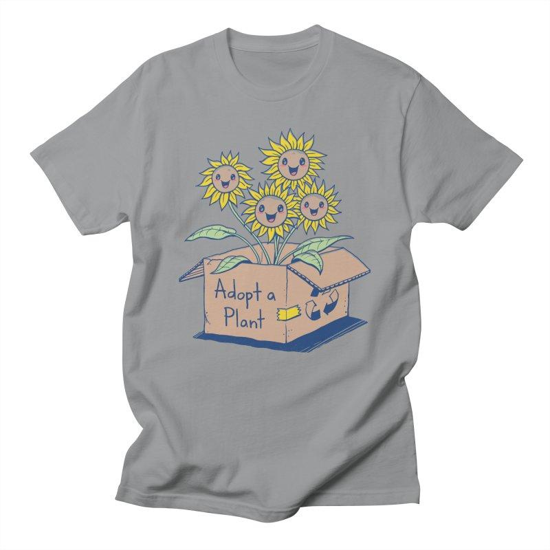 Adopt a Plant Men's T-Shirt by Vincent Trinidad Art