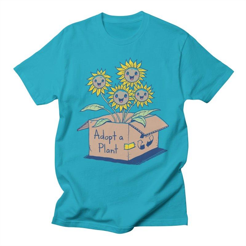 Adopt a Plant Women's Regular Unisex T-Shirt by Vincent Trinidad Art