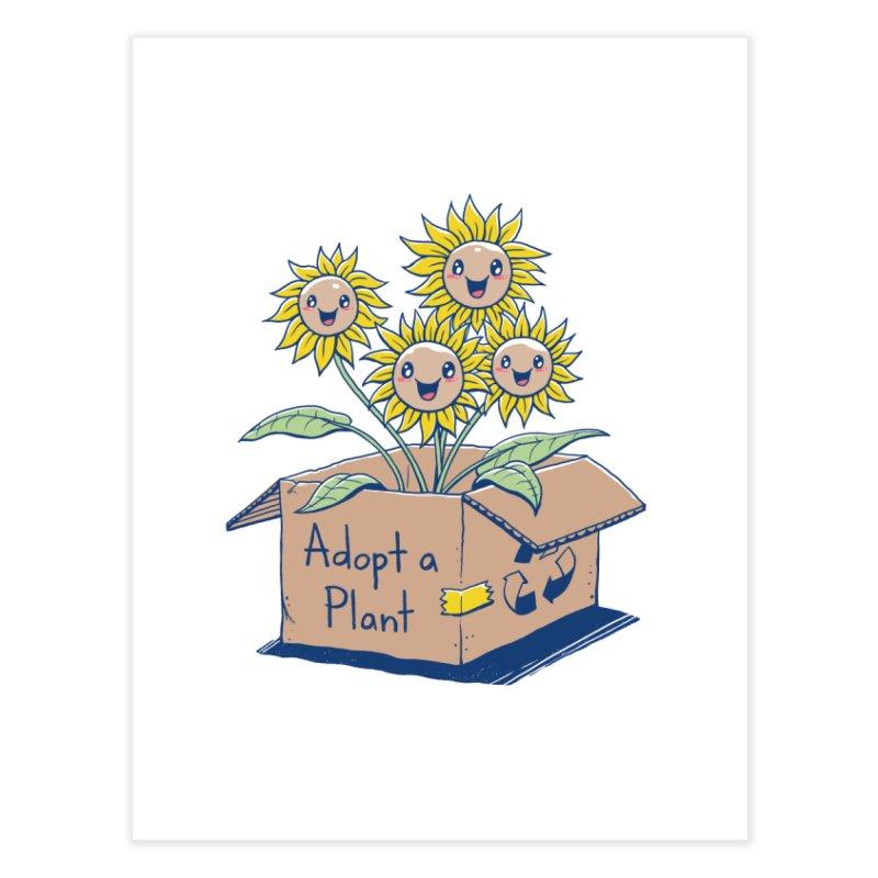 Adopt a Plant Home Fine Art Print by Vincent Trinidad Art