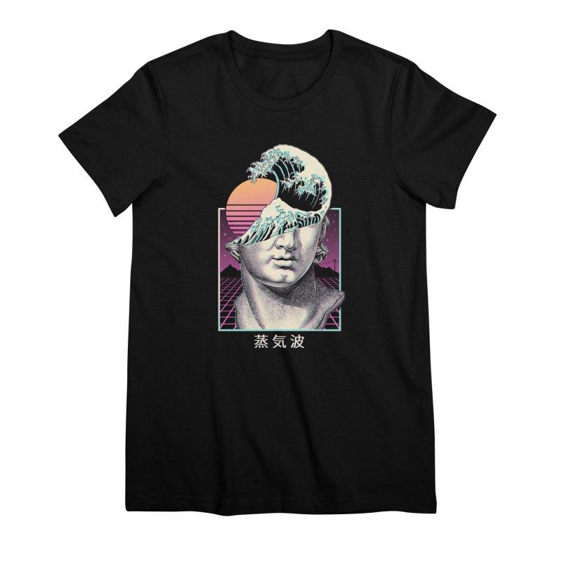 Great Vaporwave Women's Premium T-Shirt by Vincent Trinidad Art