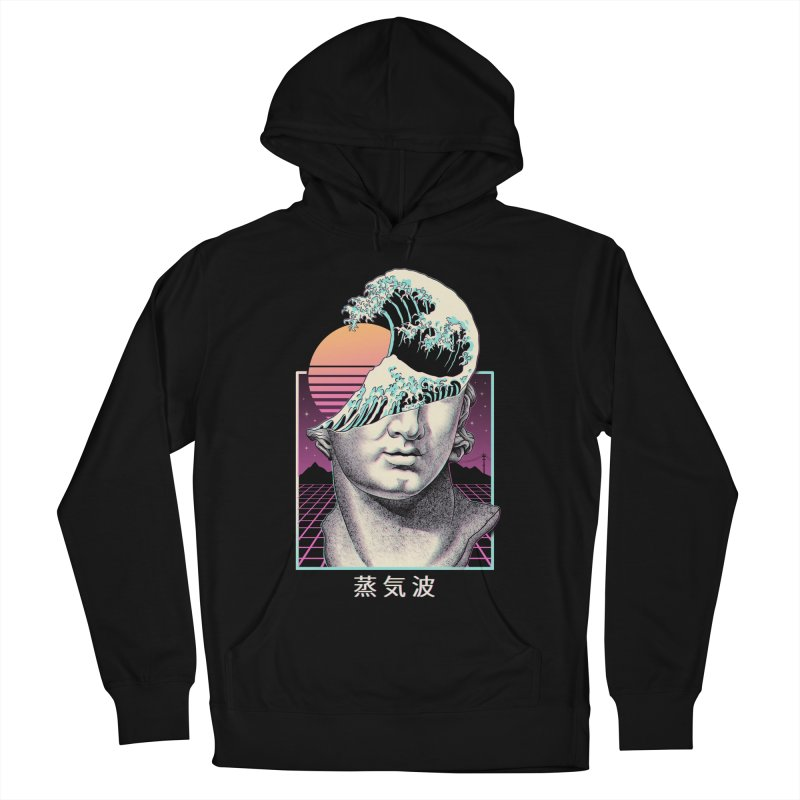 Great Vaporwave Women's French Terry Pullover Hoody by Vincent Trinidad Art