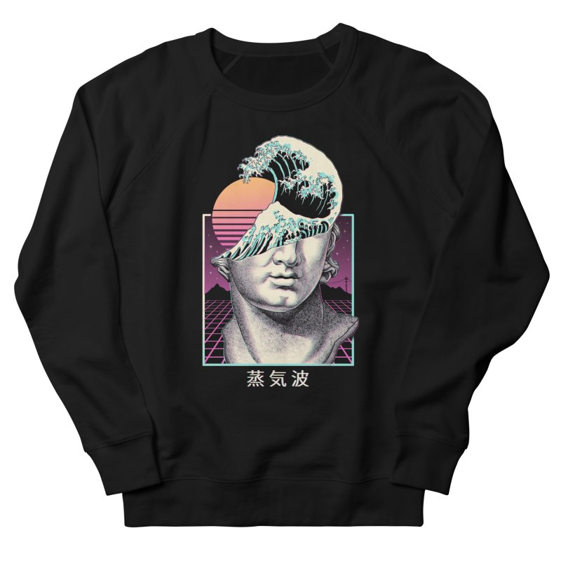 Great Vaporwave Women's French Terry Sweatshirt by Vincent Trinidad Art